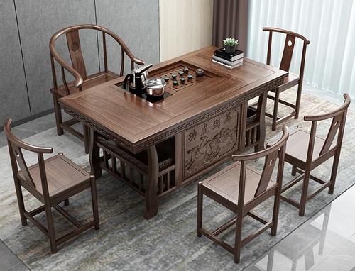 實木茶桌,實木茶桌圖片大全